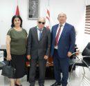 KTEF başkanı Derviş Yücetürk Milli Eğitim ve Kültür Bakanı Cemal Özyiğit'le görüştü.