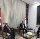 KTEF yönetim kurulu KKTC Meclis Başkanı Teberrüken Uluçay'a nezaket ziyaretinde bulundular.