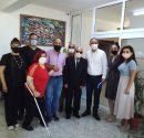 Lefkoşa Türk Belediye Başkanı Sn. Mehmet Harmancı Rauf Raif Denktaş Görme Engelliler Özel Eğitim Okulu ve  Kıbrıs Türk Engelliler Federasyonu'na ziyaret gerçekleştirdi.