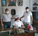 Çanakkale Görme Engelliler Dernek Başkanı İbrahim Batdal'dan Kıbrıs Türk Görmezler Derneği'ne anlamlı ziyaret;